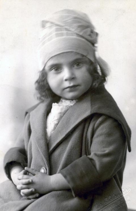 Miriam Laufer age 3