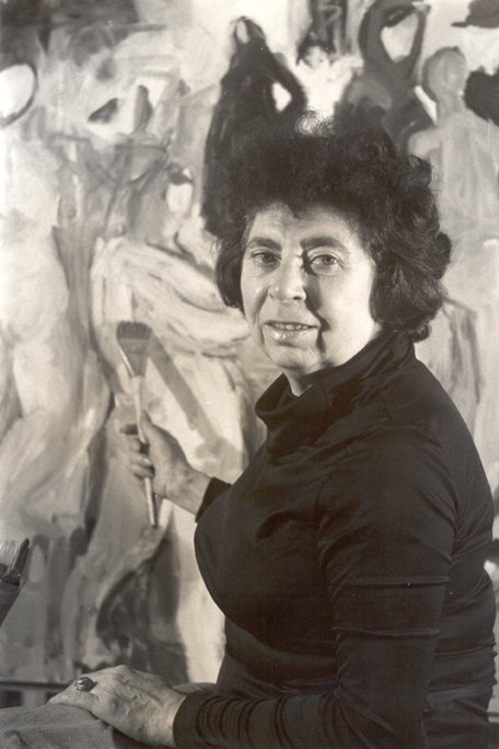 Miriam Laufer photographed by Sonja Bullaty