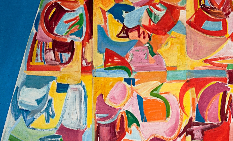 Miriam Laufer detail of untitled abstraction