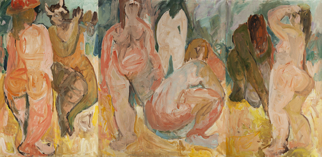 "Miriam Laufer ""The Bathers"""